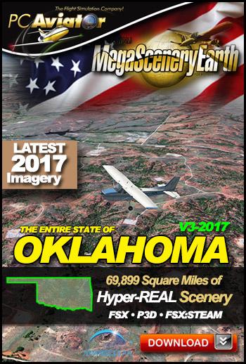 MegaSceneryEarth 3 - Oklahoma (2017)