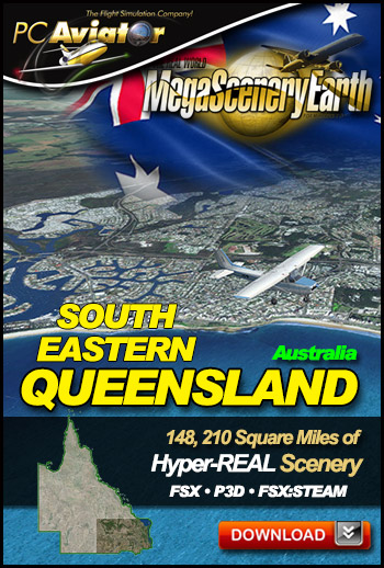MegaSceneryEarth 3 - Queensland (South East)