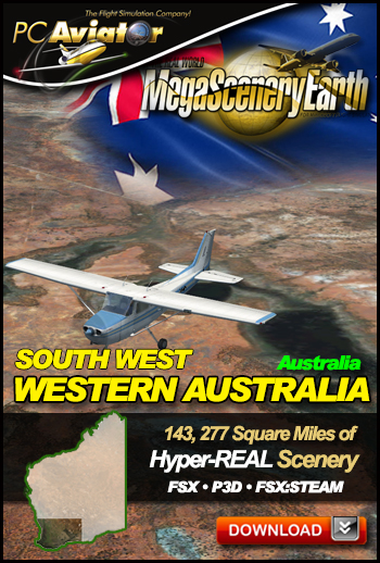 MegaSceneryEarth 3 - Western Australia (South West)