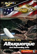 MegaSceneryEarth 2.0 - Ultra-Res Cities - Albuquerque