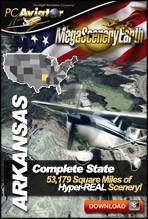 MegaSceneryEarth 2.0 - Arkansas Complete State