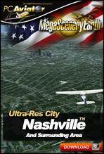 MegaSceneryEarth 2.0 - Ultra-Res Cities - Nashville
