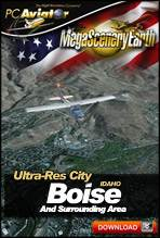 MegaSceneryEarth 2.0 - Ultra-Res Cities - Boise