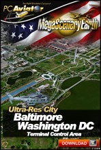 MegaSceneryEarth 2.0 - Ultra-Res Cities - Baltimore/Washington DC