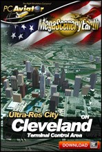 MegaSceneryEarth 2.0 - Ultra-Res Cities - Cleveland