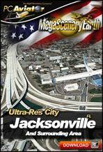 MegaSceneryEarth 2.0 - Ultra-Res Cities - Jacksonville, FL