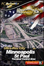 MegaSceneryEarth 2.0 - Ultra-Res Cities - Minneapolis/St Paul