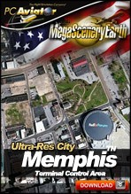 MegaSceneryEarth 2.0 - Ultra-Res Cities - Memphis