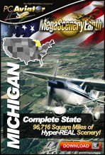 MegaSceneryEarth 2.0 - Michigan Complete State