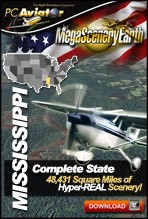 MegaSceneryEarth 2.0 - Mississippi Complete State