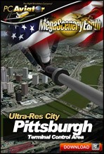 MegaSceneryEarth 2.0 - Ultra-Res Cities - Pittsburgh