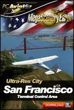 MegaSceneryEarth 2.0 - Ultra-Res Cities - San Francisco