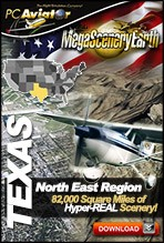MegaSceneryEarth 2.0 - Texas North East