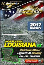 MegaSceneryEarth 3 - Louisiana