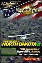 MegaSceneryEarth 3 - North Dakota