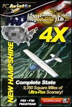 MegaSceneryEarth 4X - New Hampshire