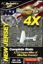 MegaSceneryEarth 4X - New Jersey