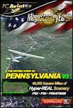MegaSceneryEarth 3 - Pennsylvania