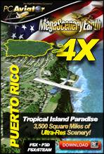 MegaSceneryEarth 4X - Puerto Rico