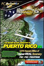 MegaSceneryEarth 3 - Puerto Rico 60 cm Ultra Res