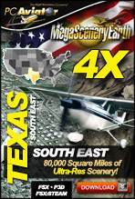 MegaSceneryEarth 4X - Texas (South East)