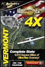 MegaSceneryEarth 4X - Vermont