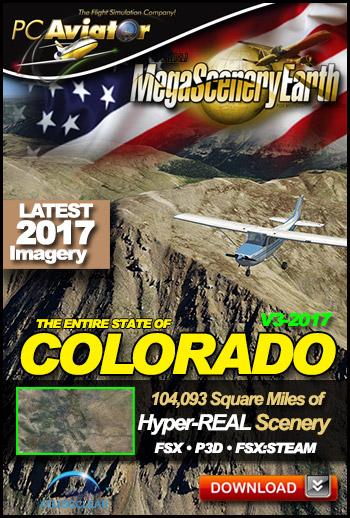 MegaSceneryEarth 3 - Colorado (2017)