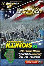 MegaSceneryEarth 3 - Illinois