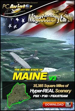 MegaSceneryEarth 3 - Maine