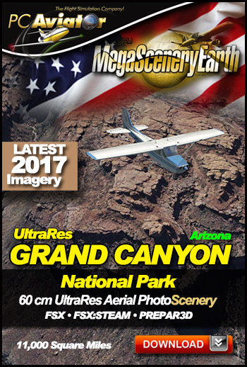 MegaSceneryEarth 3 - 60 cm Ultra Res Grand Canyon