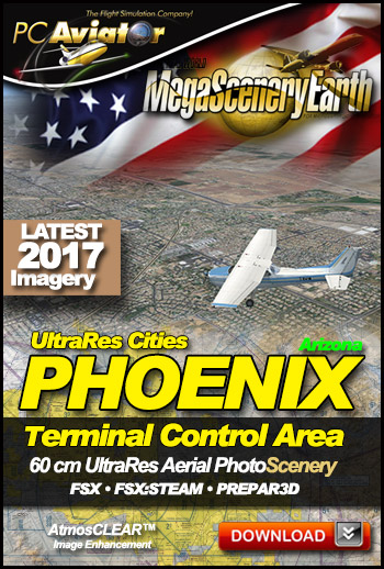 MegaSceneryEarth 3 - UltraRes Cities: Phoenix