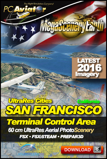 MegaSceneryEarth 3 - UltraRes Cities: San Francisco