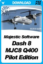 Majestic Software Dash 8 Q400 Pilot Edition