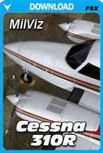 MilViz Cessna 310R