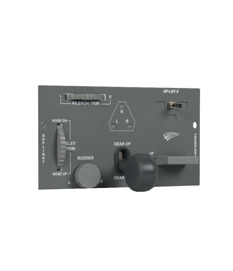 GoFlight (GF-LGTII) Landing Gear and Trim Control Module