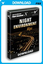 Night Environment: Alps (FSX)