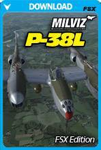 P-38L with TacPack Bundle for FSX/P3D