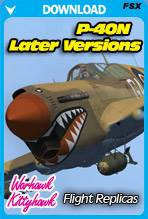 Curtiss P-40N Warhawk / KittyHawk IV - Later Versions