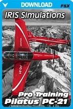 IRIS - Pro Training Series - Pilatus PC-21 [FSX]