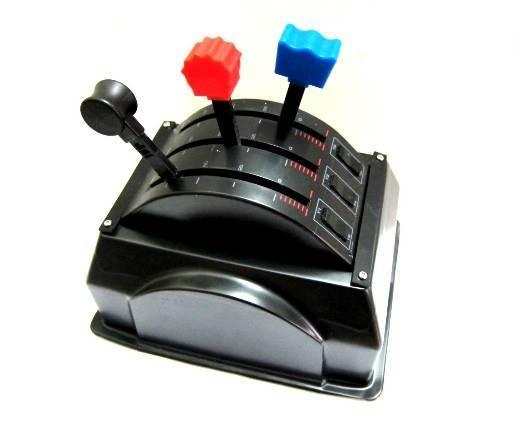 Mounting Box for Single Saitek Throttle