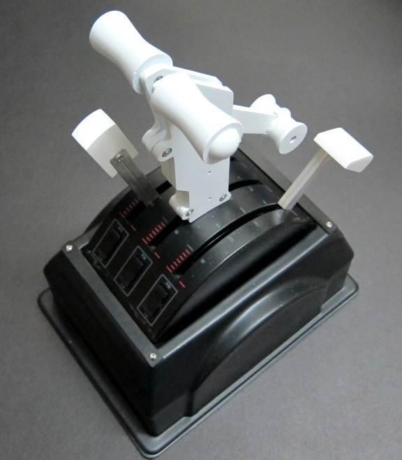 Boeing Style Single-Dual Handles for Saitek Throttle Quadrant