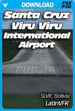 Santa Cruz Bolivia Viru Viru International Airport (SLVR)