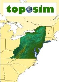TopoSim - USA - Mid Atlantic Region