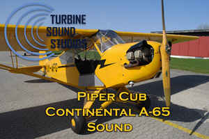 Piper Cub Continental 65 soundpack for FS2004