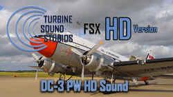Pratt & Whitney R-1830 Soundpack for the DC-3 (FSX)