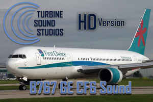 Boeing 767 GE CF6-80 Soundset for FS2004