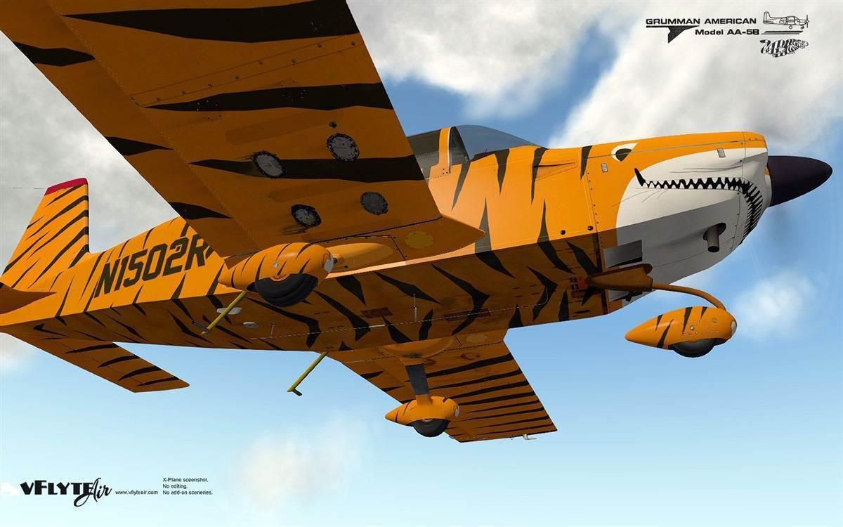 Grumman Tiger for XPlane