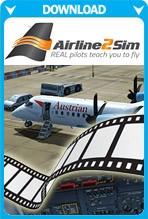Airline2Sim Majestic Dash8 Q400 Cadet Training Program (Video)