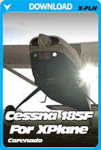 Cessna 185F Skywagon For X-Plane