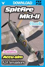 A2A Simulations - Accu-sim Spitfire MkI-II (FSX/P3Dv4) ACADEMIC BUNDLE